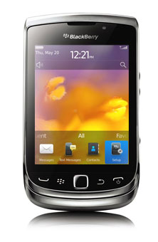 BlackBerry<sup style='font-size:0.5em'>MD</sup> Torch<sup style='font-size:0.5em'>MC</sup> 9810 4G