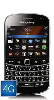 BlackBerry® Bold<sup style='font-size:0.5em'>TM</sup> 9900 4G